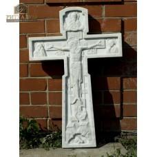 Крест из мрамора резной — ritualum.ru